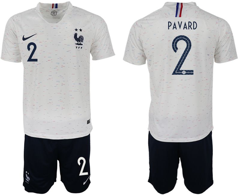 new arrival 32d21 1c500 Men 2018 World Cup France away aaa version 19 white soccer ...
