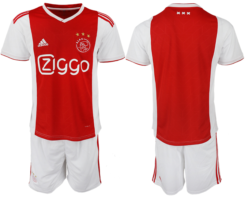 Men 2018-2019 club AFC Ajax home red soccer jersey