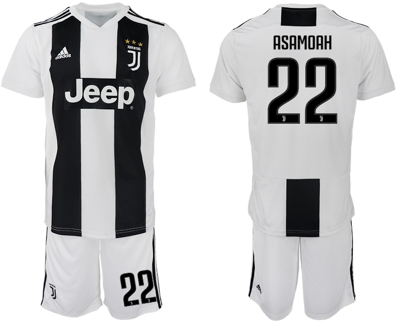 Men 2018-2019 club Juventus FC home 22 white soccer jersey