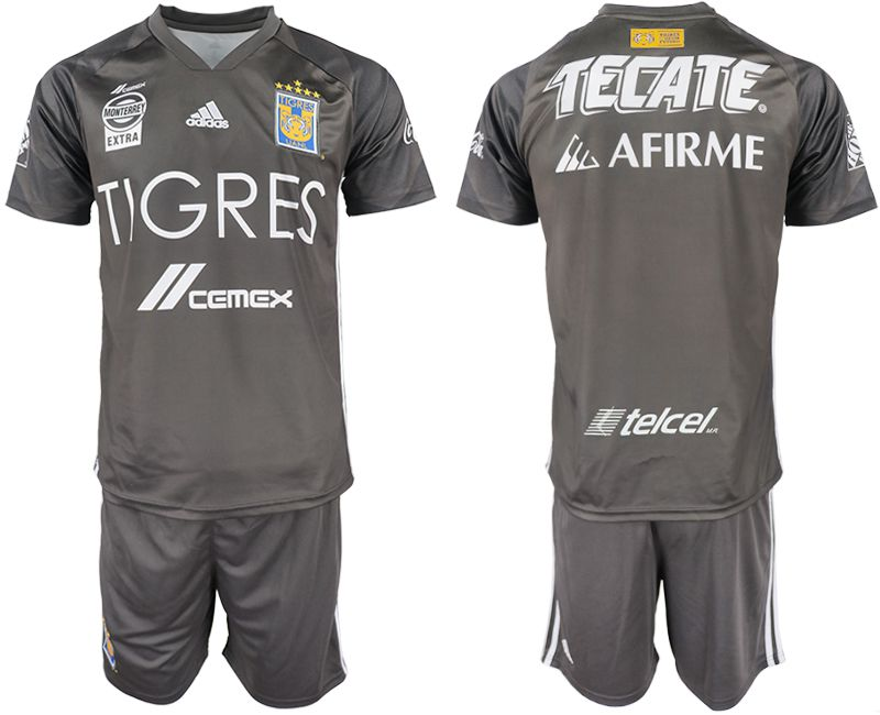Men 2018-2019 club Tigres UANL away blank soccer jersey
