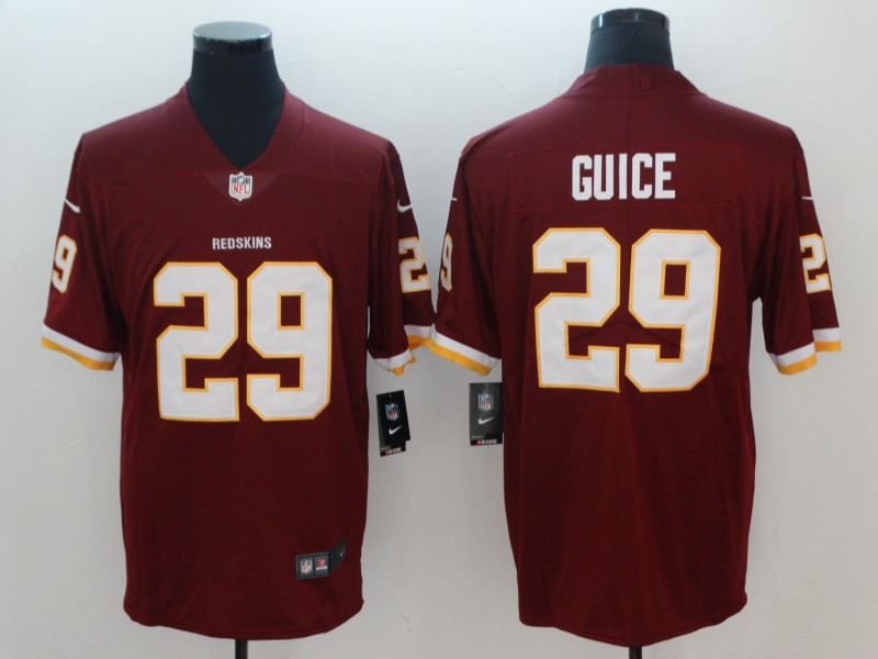Men Washington Redskins 29 Derrius Guice Vapor Untouchable Player Nike Limited NFL Jerseys