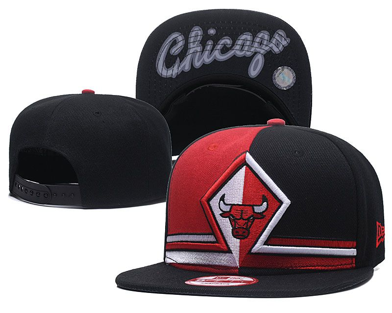 2018 NBA Chicago Bulls Snapback hat GSMY0925