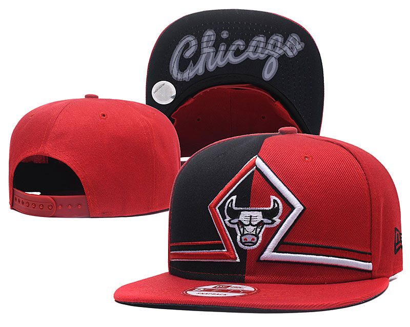 2018 NBA Chicago Bulls Snapback hat GSMY09251
