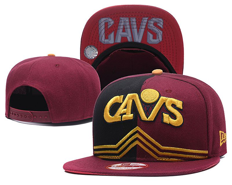 2018 NBA Cleveland Cavaliers Snapback hat GSMY09251