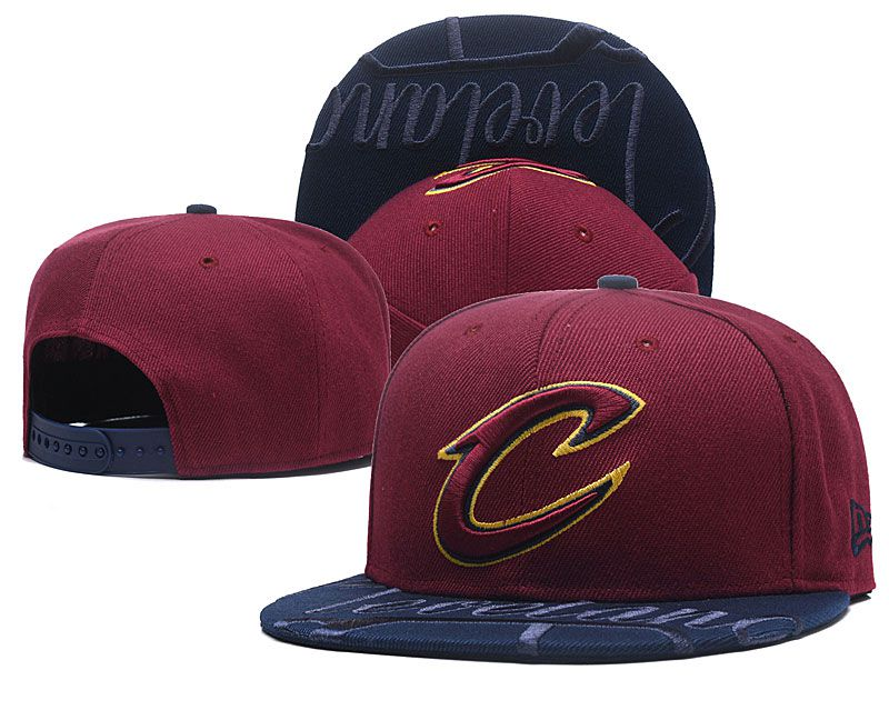 2018 NBA Cleveland Cavaliers Snapback hat GSMY09252