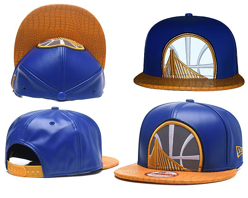 2018 NBA Golden State Warriors Snapback hat GSMY0903