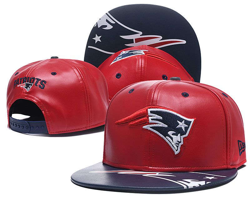 2018 NFL New England Patriots Snapback hat GSMY09031