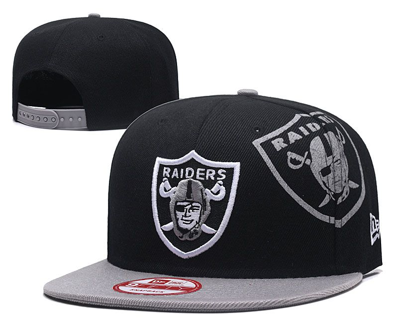 2018 NFL Oakland Raiders Snapback hat GSMY09251