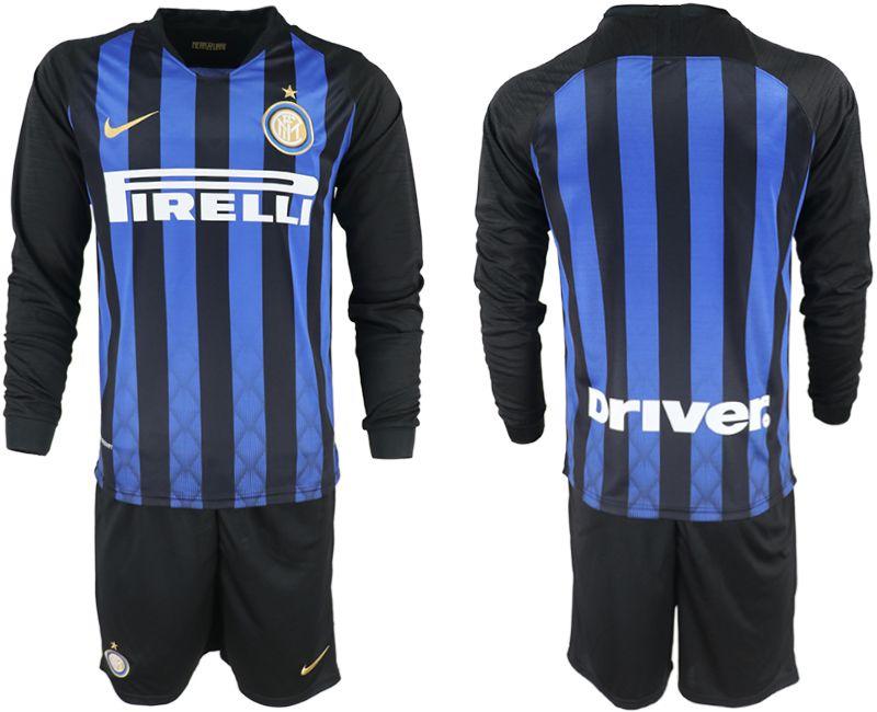 huge discount 8b362 08ef8 closeout inter milan 23 miranda home long sleeves soccer ...