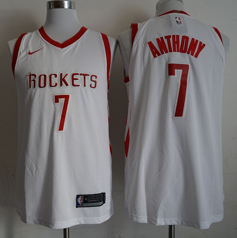 Men Houston Rockets 7 Anthony White Game Nike NBA Jerseys