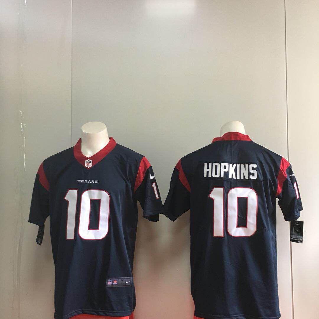 127948e9 ... men houston texans 10 hopkins blue nike vapor untouchable limited nfl  jerseys