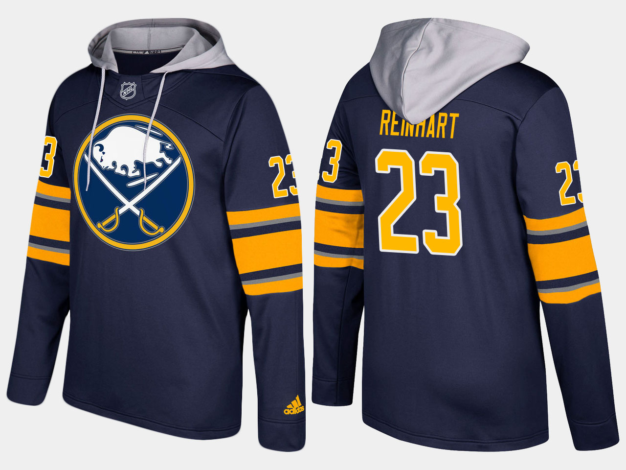 NHL Men Buffalo sabres 23 sam reinhart blue hoodie