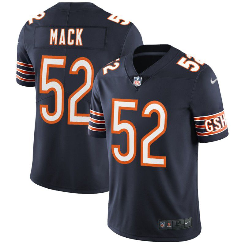 Youth Chicago Bears 52 Mack Blue Nike Vapor Untouchable Player NFL Jerseys
