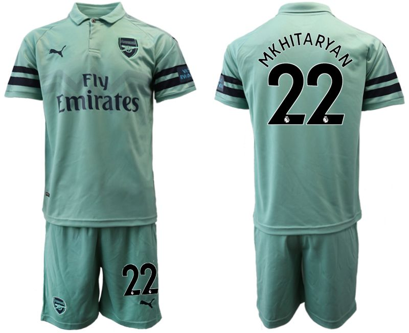 Men 2018-2019 club Arsenal away 22 green soccer jersey