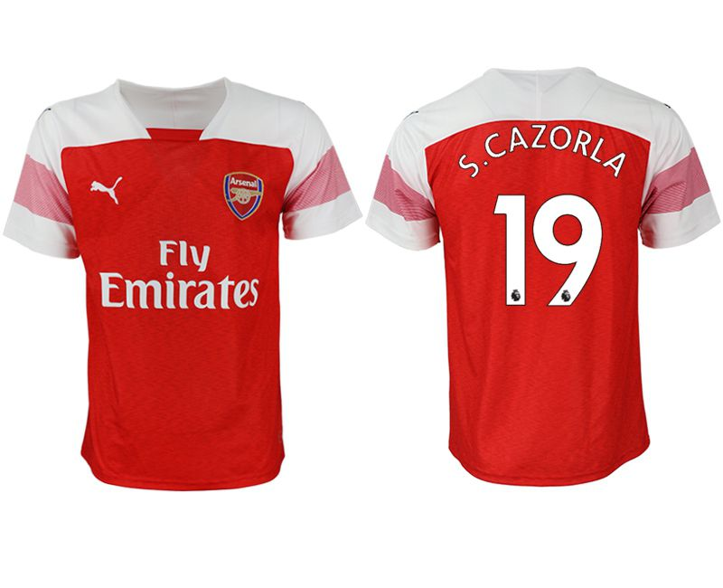 Men 2018-2019 club Arsenal home aaa version 19 red Soccer Jerseys