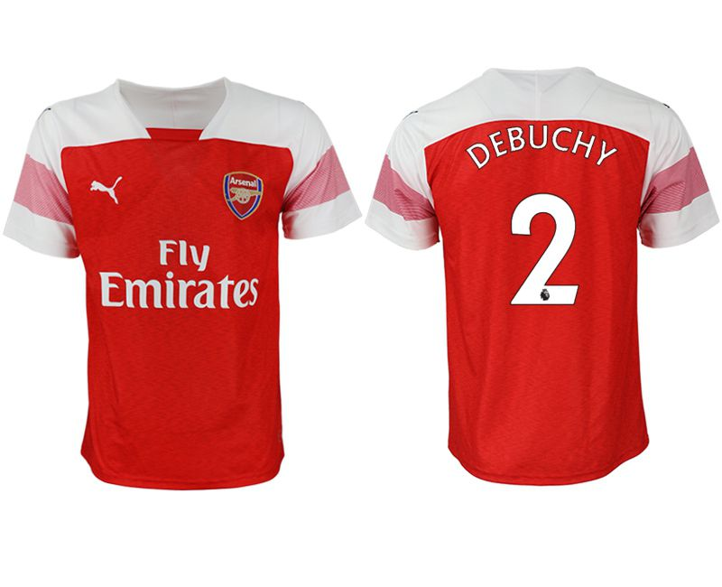 Men 2018-2019 club Arsenal home aaa version 2 red Soccer Jerseys