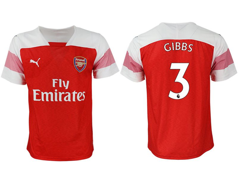 Men 2018-2019 club Arsenal home aaa version 3 red Soccer Jerseys
