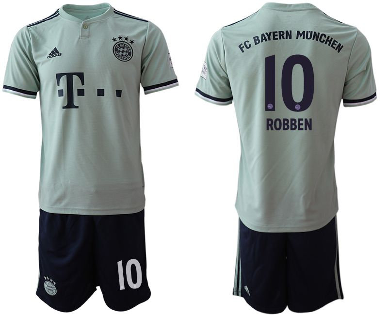Men 2018-2019 club Bayern Munich away 10 grey Soccer Jerseys