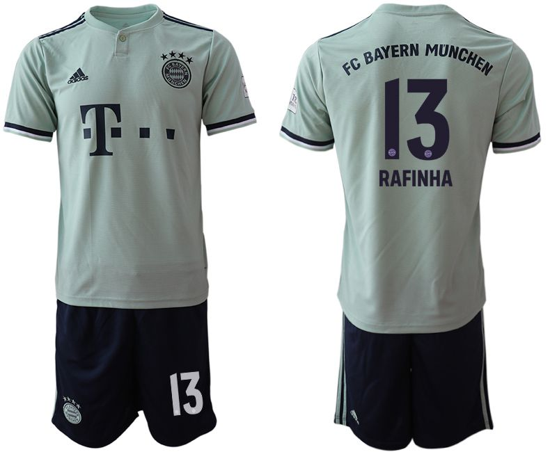Men 2018-2019 club Bayern Munich away 13 grey Soccer Jerseys