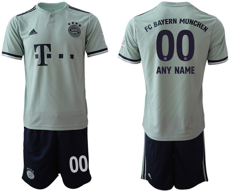Men 2018-2019 club Bayern Munich away customized grey Soccer Jerseys