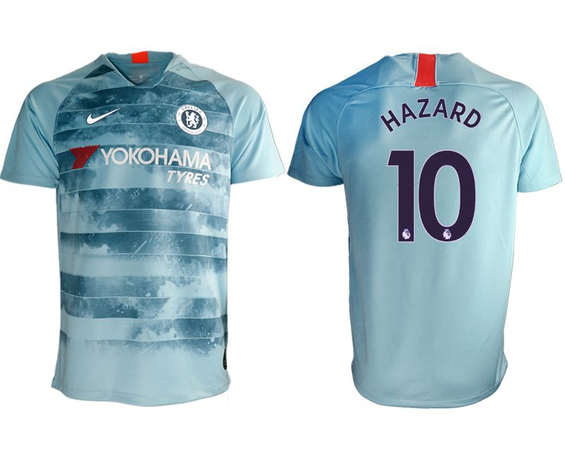 Men 2018-2019 club Chelsea Second away aaa version 10 blue Soccer Jerseys