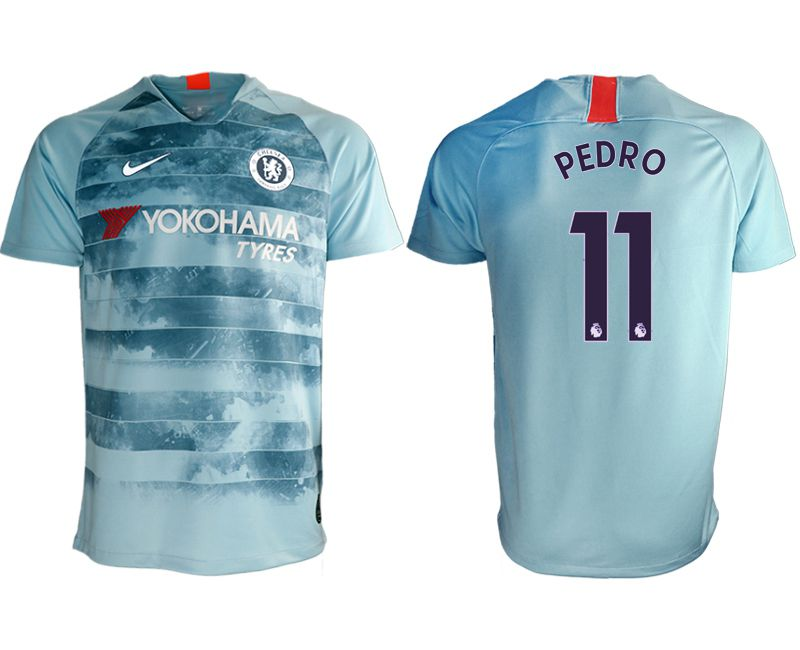Men 2018-2019 club Chelsea Second away aaa version 11 blue Soccer Jerseys