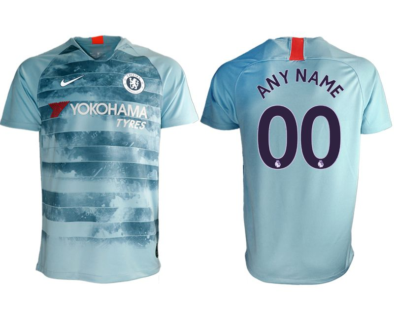 Men 2018-2019 club Chelsea Second away aaa version customized blue Soccer Jerseys
