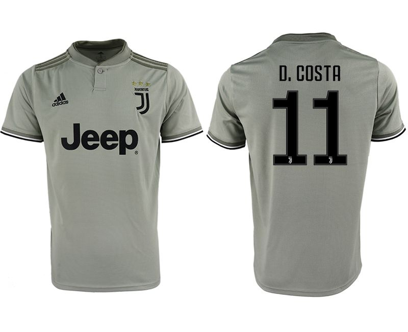 Men 2018-2019 club Juventus away aaa version 11 grey Soccer Jerseys