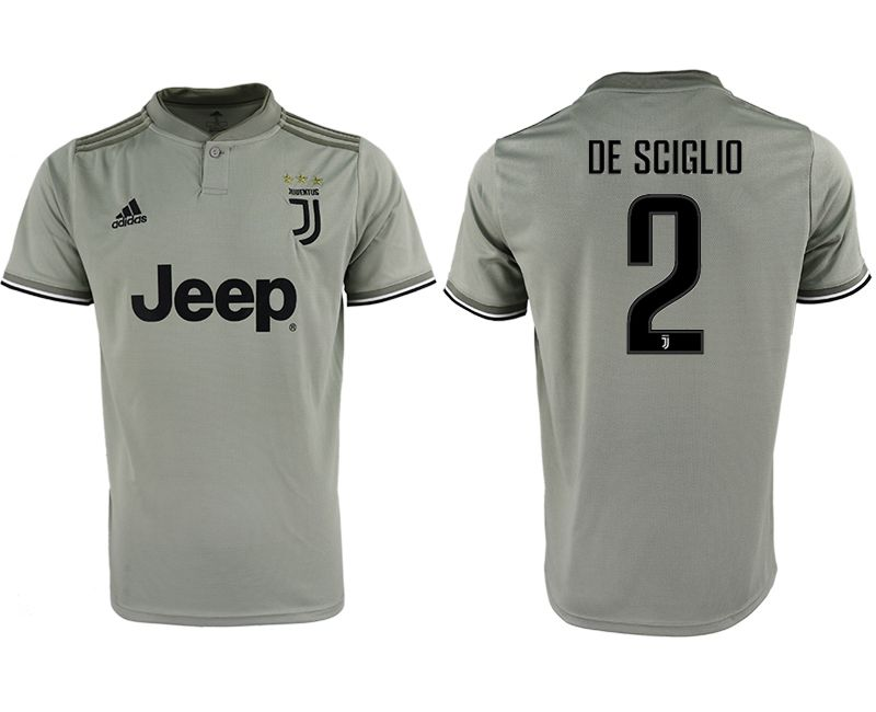 Men 2018-2019 club Juventus away aaa version 2 grey Soccer Jerseys