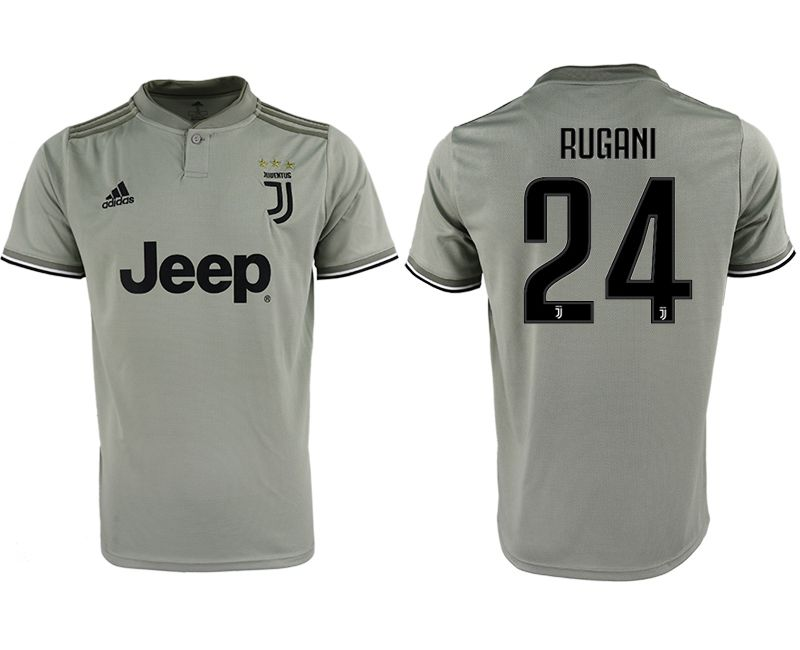 Men 2018-2019 club Juventus away aaa version 24 grey Soccer Jerseys