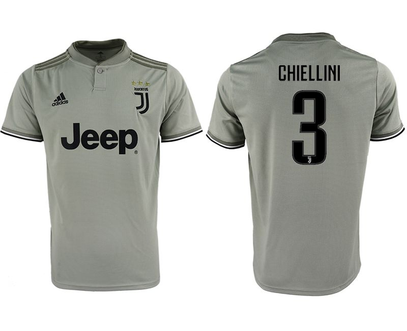 Men 2018-2019 club Juventus away aaa version 3 grey Soccer Jerseys