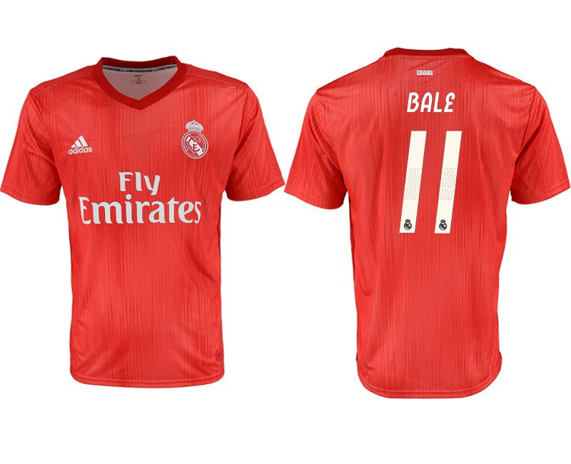 Men 2018-2019 club Real Madrid Second away aaa version 11 red soccer jersey