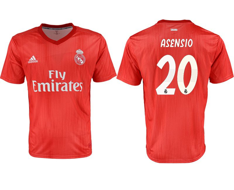 Men 2018-2019 club Real Madrid Second away aaa version 20 red soccer jersey