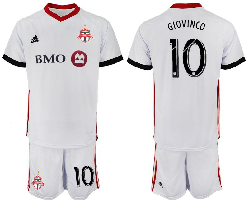 Men 2018-2019 club Toronto FC away 10 white Soccer Jerseys
