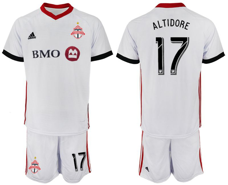 Men 2018-2019 club Toronto FC away 17 white Soccer Jerseys
