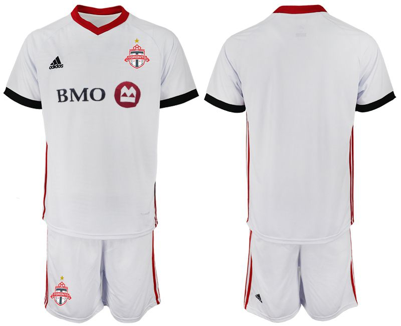 Men 2018-2019 club Toronto FC away blank white Soccer Jerseys