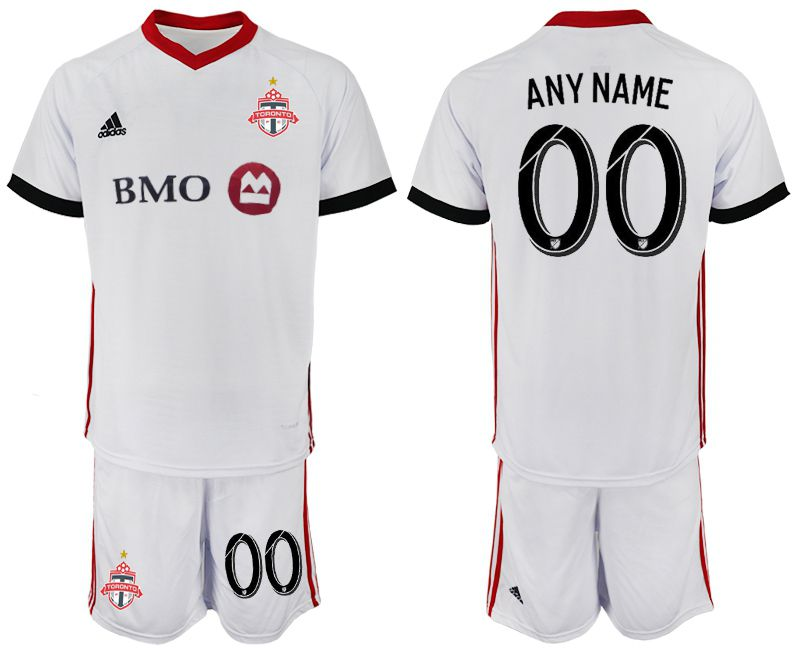 Men 2018-2019 club Toronto FC away customized white Soccer Jerseys