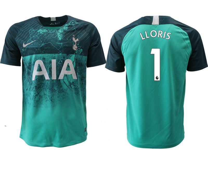 Men 2018-2019 club Tottenham Second away aaa version 1 green Soccer Jerseys