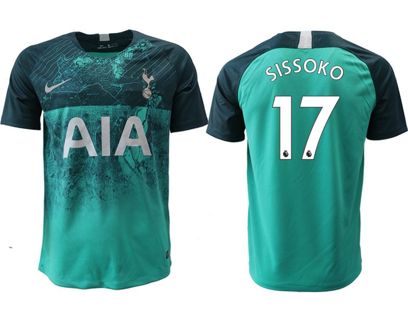 Men 2018-2019 club Tottenham Second away aaa version 17 green Soccer Jerseys