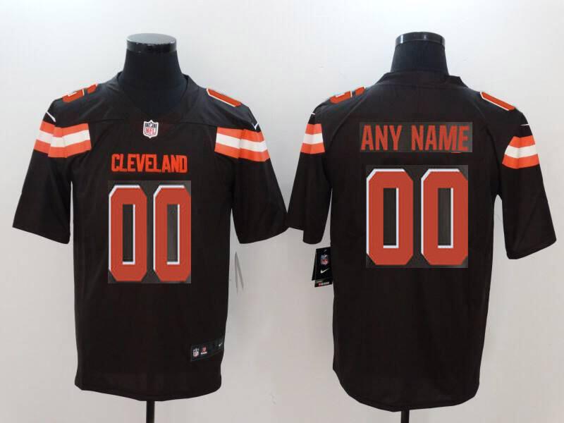 5beb50362 Men Cleveland Browns Custom brown Nike Vapor Untouchable Limited NFL Jerseys