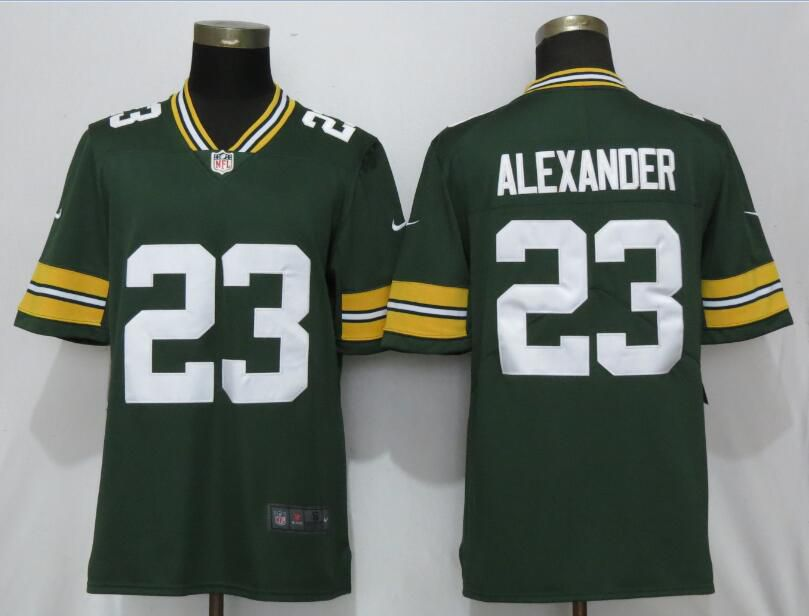 Men Green Bay Packers 23 Alexander Green Nike Vapor Untouchable Limited Playe NFL Jerseys