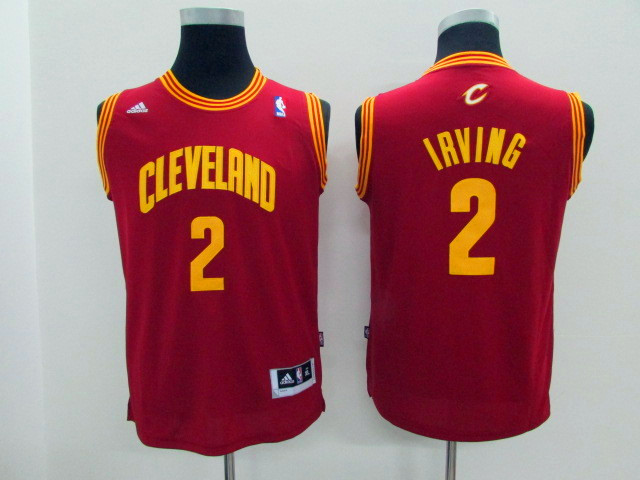 NBA Youth Cleveland Cavaliers 2 Irving Red Game Nike Jerseys