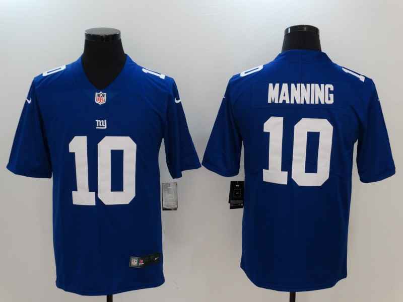 NFL Youth New York Giants 10 Manning blue Nike Jersey