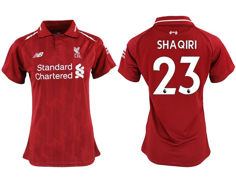 Women 2018-2019 club Liverpool aaa version home 23 red soccer jersey
