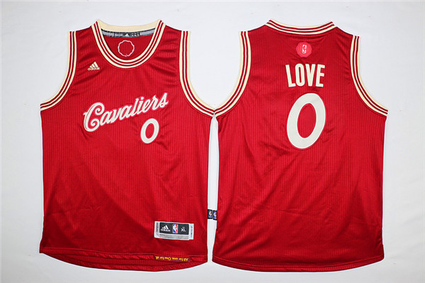 Youth Cleveland Cavaliers 0 Love Red Game Nike NBA Jerseys