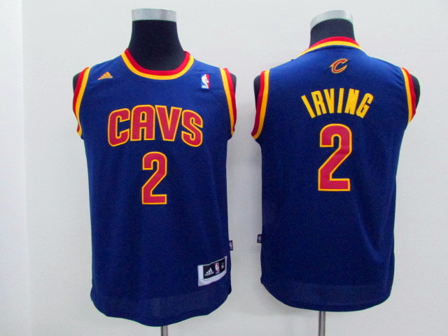 Youth Cleveland Cavaliers 2 Irving purple Game Nike NBA Jerseys