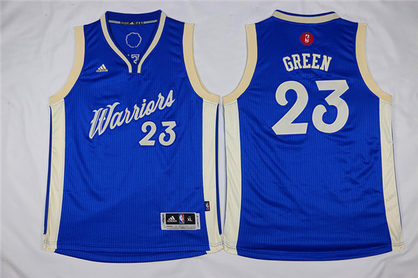Youth Golden State Warriors 23 Green blue Game Nike NBA Jerseys