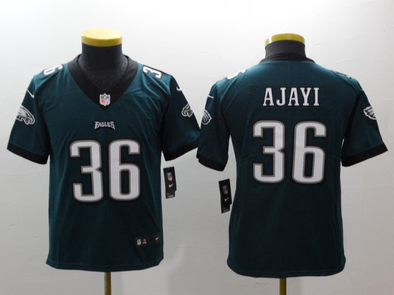 Youth Philadelphia Eagles 36 Ajayi green Nike NFL jerseys
