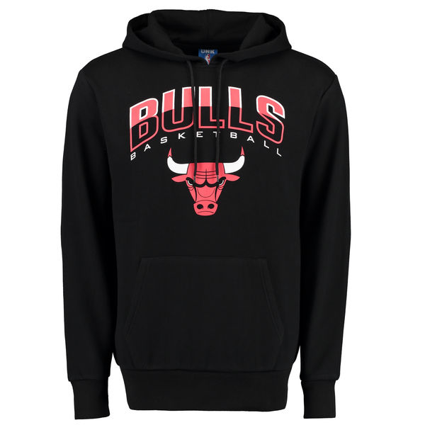 Men Chicago Bulls UNK Ballout Pullover Hoodie Black