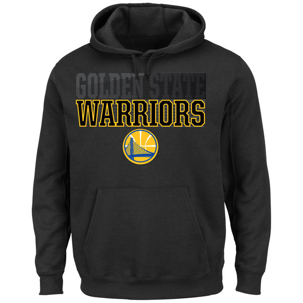 Men Golden State Warriors Color Pop Pullover Hoodie Black